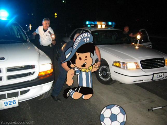 La verdadera historia de Gauchito, Mascota de Argentina 78