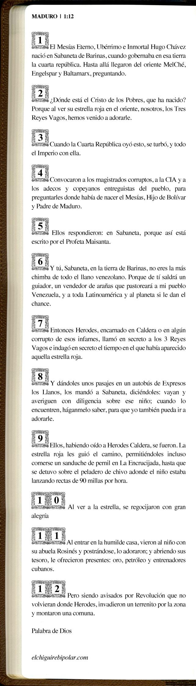 Biblia_mADURO