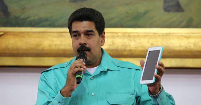 Maduro Whatsapp