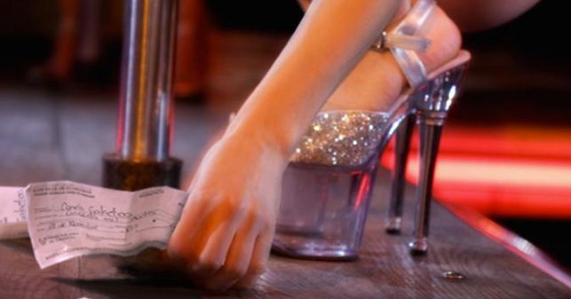 efectivo strippers trabajo de mano en Orense