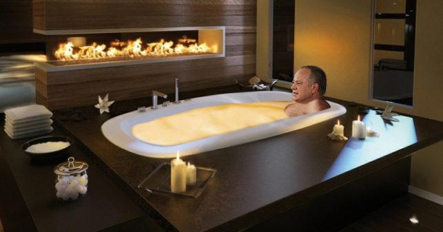 Baño matutino de Diosdado en fondue es interrumpido por noticia de ...