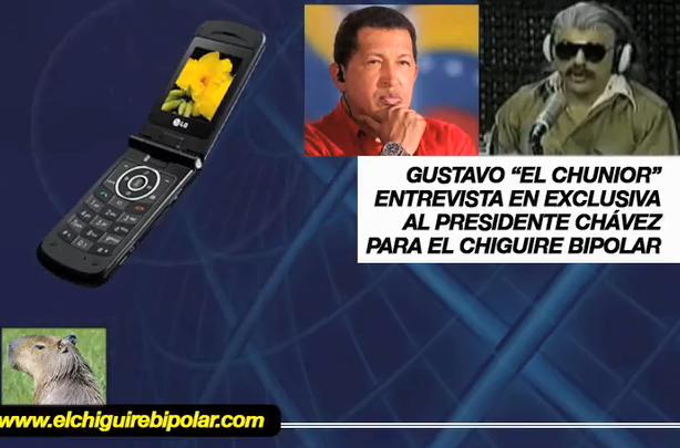 El Chunior entrevista a Chávez (Parte 1)