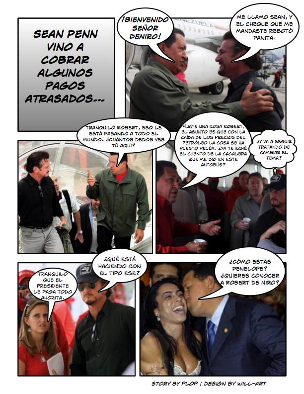 ¿A qué vino Sean Penn?