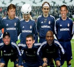 Real Madrid ficha a Schumacher, Jordan, Federer y Chuck Norris, entre otros
