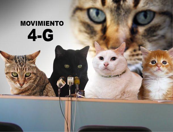 Los cuatro gatos de siempre defienden su derecho a protestar