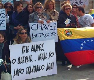 """Venezolanos en el exterior: """"Vete Chávez… o quédate, igual yo ando tranquilo aquí"""""""