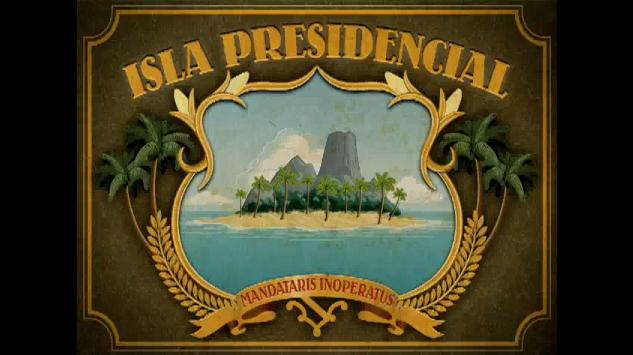 Personajes y fecha de lanzamiento de ISLA PRESIDENCIAL