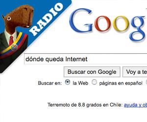 Audio: Gobierno busca en Google dónde queda Internet
