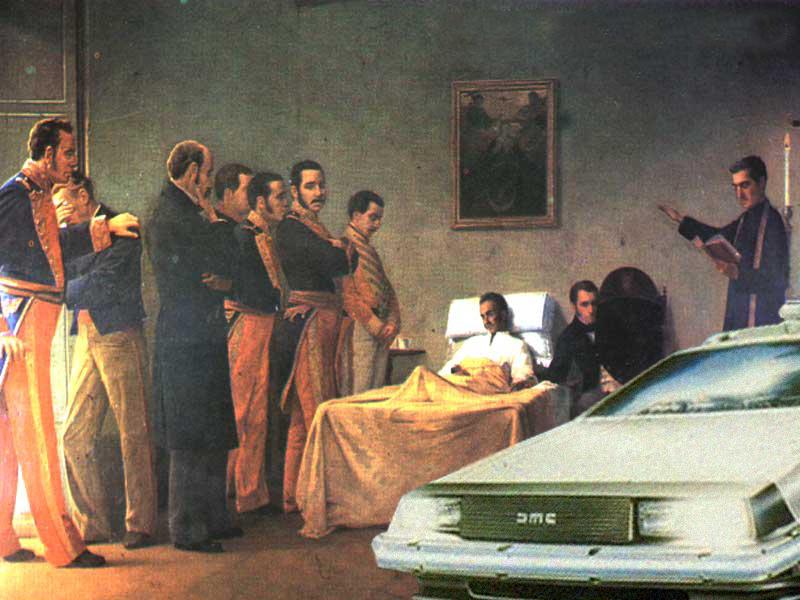 Hallan DeLorean en escena del crimen de Bolívar