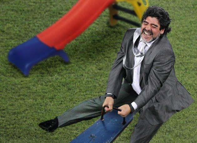 FIFA instalará parque para mantener entretenido a Maradona
