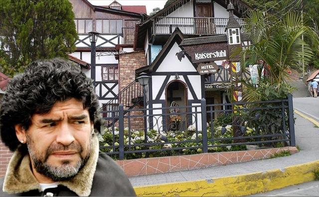 Envían a Maradona a la Colonia Tovar mientras bajan las tensiones