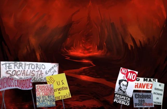 Líderes opositores comienzan a suicidarse para no perder control del infierno