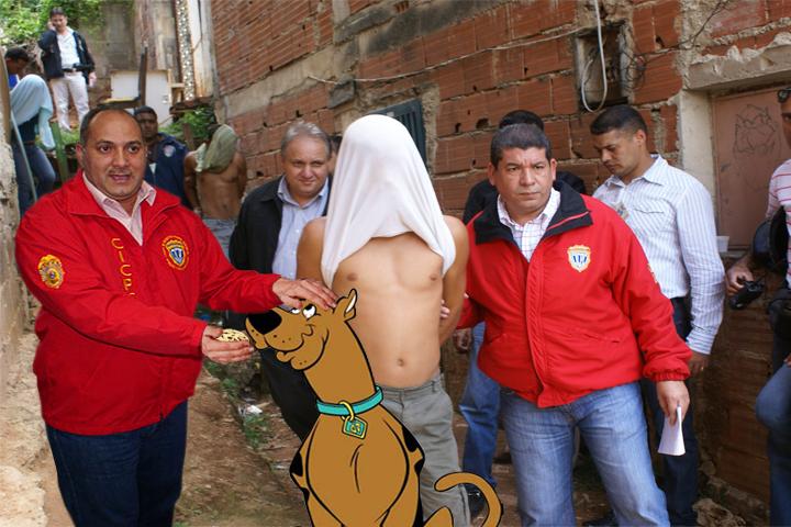 Scooby Doo resuelve cangrejo del CICPC