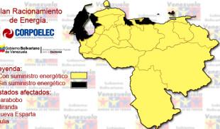 Anuncian plan de racionamiento para Zulia, Miranda, Carabobo y Nueva Esparta