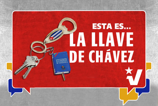PSUV lanza campaña nacional para conseguir las llaves de Chávez