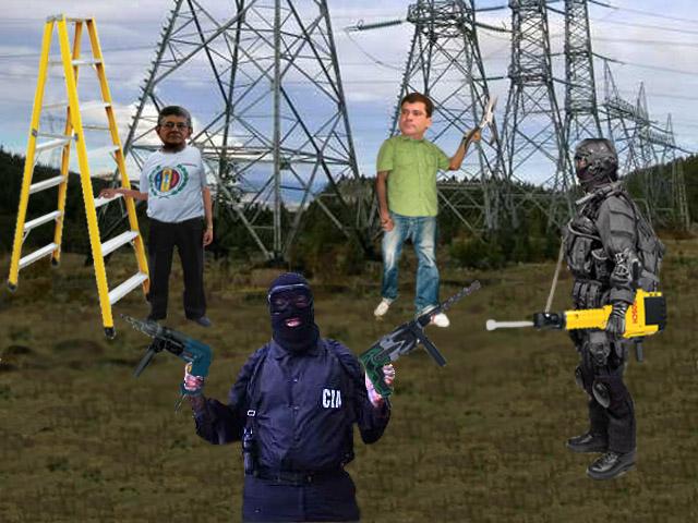 Comisión de la cuarta y miembros de la CIA coinciden en saboteo a subestación eléctrica
