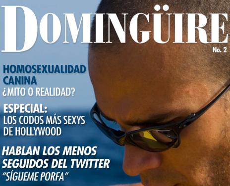 """Revista Domingüire No.2 """"Carlos Coste"""""""
