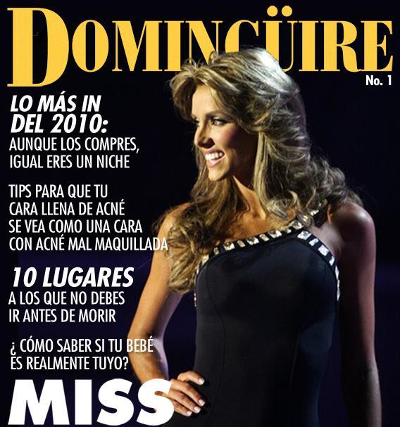 """Revista Domingüire No.1 """"Miss Venezuela"""""""