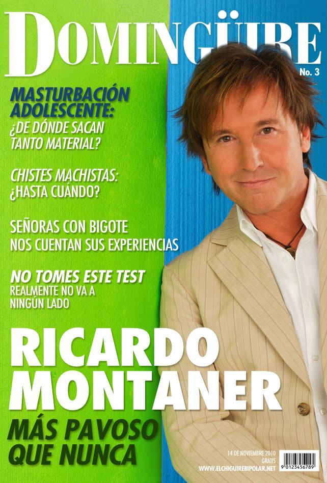 """Revista Domingüire No.3 """"Ricardo Montaner"""""""