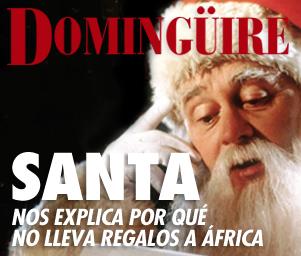 Dominguire No.8: Santa explica por qué no lleva regalos a África