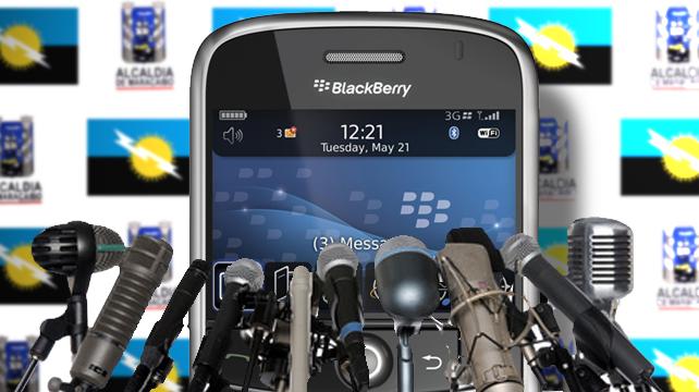 BlackBerry de Rosales gana elecciones en Maracaibo