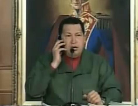 VIDEO: Chávez llama para pedir una Domino's pizza