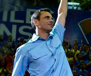 Perfil del candidato presidencial Henrique Capriles Randoski
