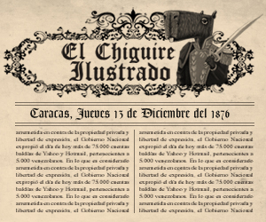 El Chigüire Ilustrado: titulares de 1876