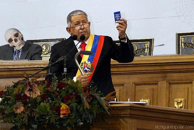 Después de 30 años Chávez finaliza discurso de Memoria y Cuenta