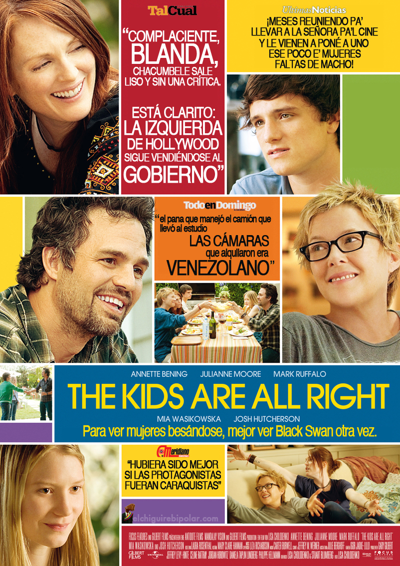 The Kids Are All Right: Para ver mujeres besándose, mejor Black Swan