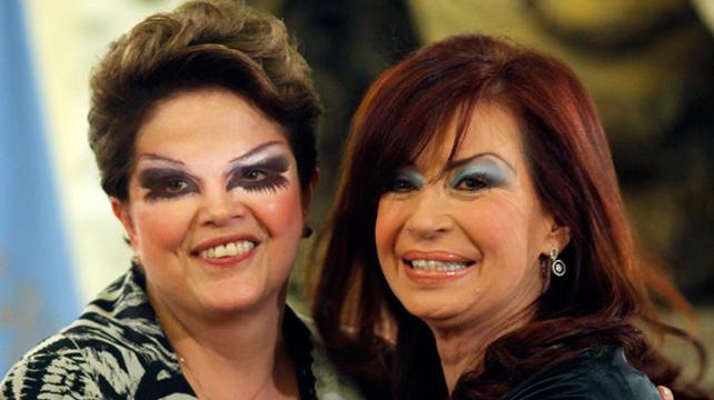 Kirchner y Rousseff temen que su maquillador sea infiltrado