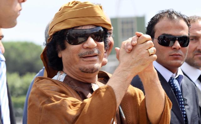Kadhafi, Gaddafi o Gadafi renunciará cuando alguien descubra cómo se escribe su nombre