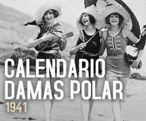 """Polar celebra con sexy Calendario """"Damas Polar"""" 1941"""
