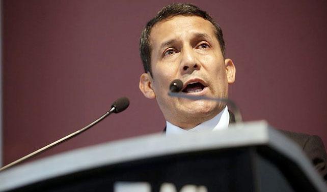 """Humala pide a Chávez """"no meterse"""" en la campaña de Perú y le recuerda su cuenta 0010492013"""
