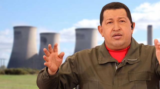 Chávez quiere su propia planta Nuclear... Ya, ese es el chiste