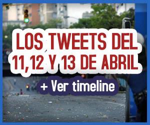 Si Twitter hubiese existido el 11, 12 y 13 de abril de 2002