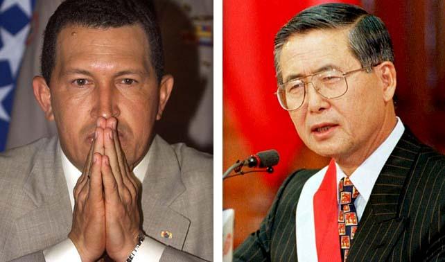 Chávez del 98 y Fujimori del 92 lideran encuestas en Perú