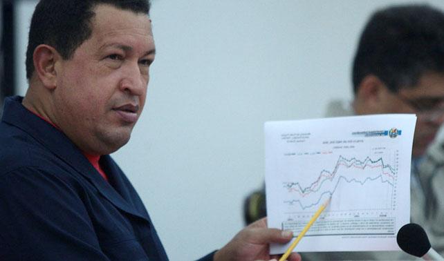 """Chávez: """"Excedente petrolero irá a sede del Fonden debajo de mi cama"""""""
