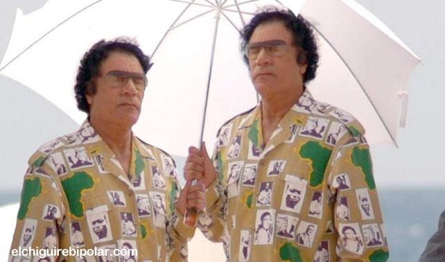 Gadaffi aceptaría entregar el poder a su gemelo: Khadaffi