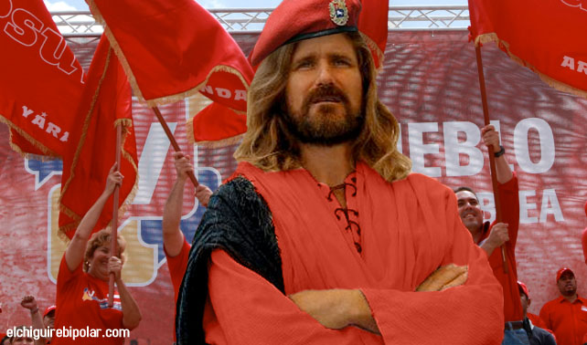 Investigadores chavistas descubren que Cristo fue miembro del PSUV
