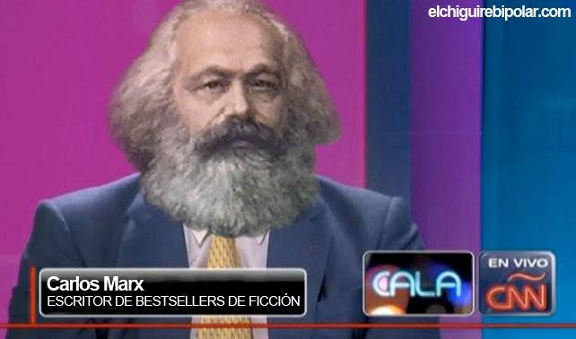 """Carlos Marx presenta nuevo libro de ficción: """"¡Querida, encogí al obrero!"""""""