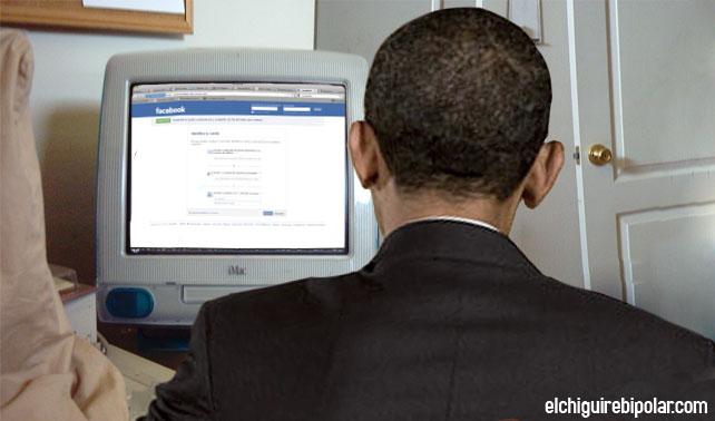 Obama ve amenazada su reelección tras olvidar su contraseña de Facebook