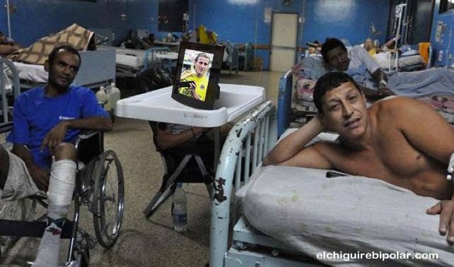 En retribución Uruguay dona foto de Forlán a hospital venezolano
