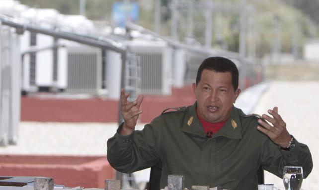 """Chávez: """"La Gran Colombia es autosuficiente en materia energética"""""""