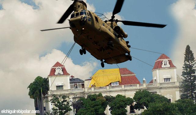 Palacio de Miraflores es trasladado a La Habana