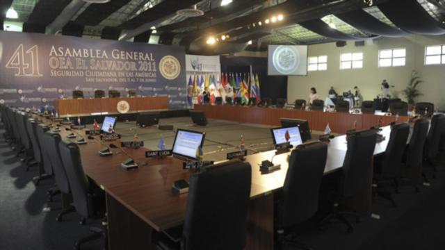 Todo listo para que nada pase en Asamblea General de la OEA