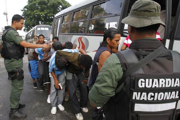 Presos de El Rodeo serán ubicados en autobuses indefinitamente