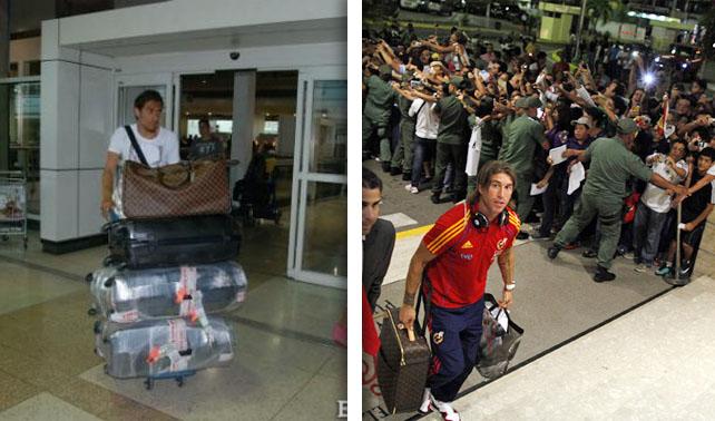 Vinotinto sale y vuelve a entrar al país a ver si la reciben como España
