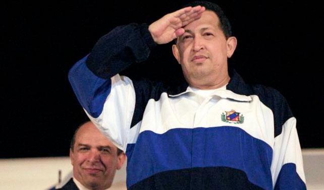 Presidente Hugo Chávez inicia visita oficial de tres días a Venezuela