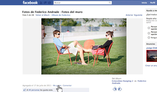 Le dio Like en Facebook a foto de amigo que vive en el exterior aunque en el fondo le tiene envidia
